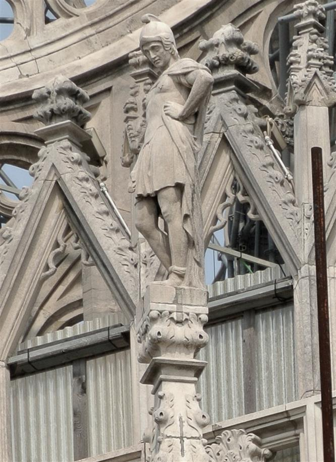 San Procolo raffigurato nel Duomo di Milano