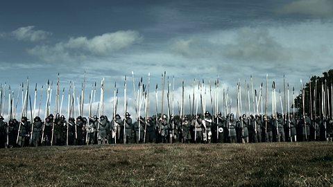 La ricostruzione dell'ultima fase della battaglia in un documentario della BBC