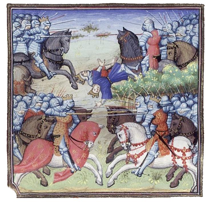 La battaglia di Tagliacozzo (1268)