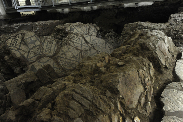 I sotterranei di Palazzo Spada a Roma