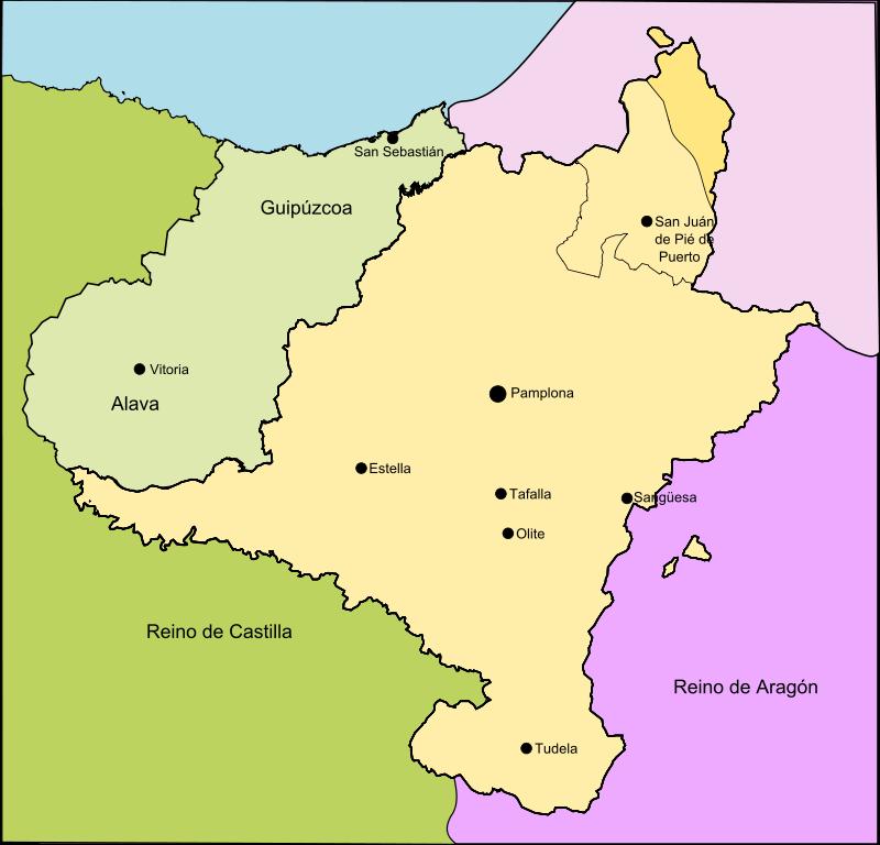 Il Regno di Navarra sotto Sancho VII il Forte (1194-1234)