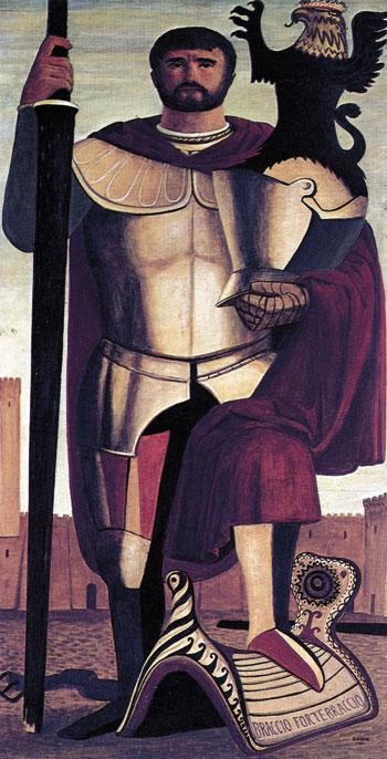 Braccio Fortebraccio dipinto da Salvatore Fiume