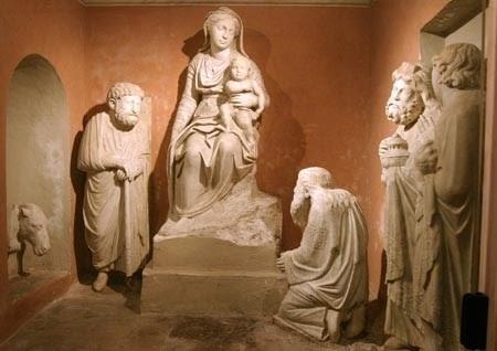 La Natività di Arnolfo di Cambio a Santa Maria Maggiore, Roma