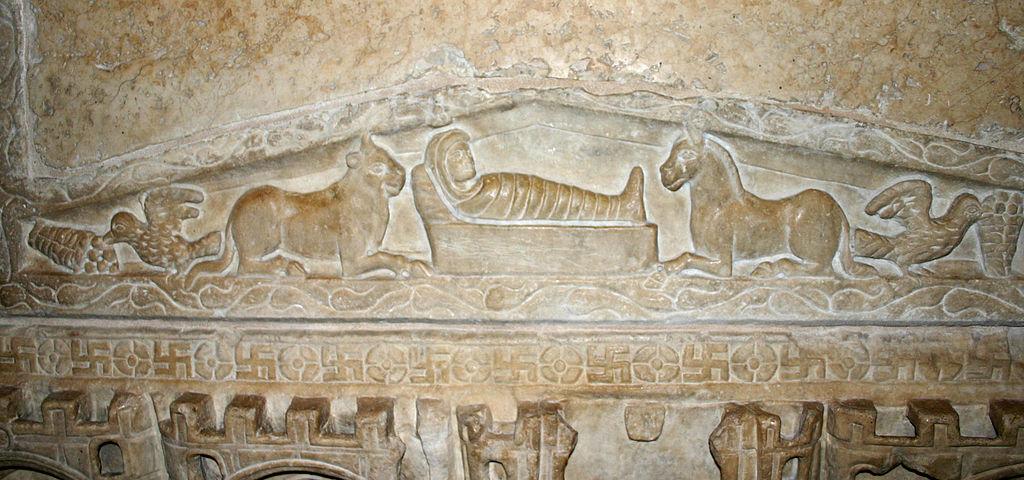 Milano, Sant'Ambrogio. Sarcofago di Stilicone (foto Giovanni Dall'Orto)