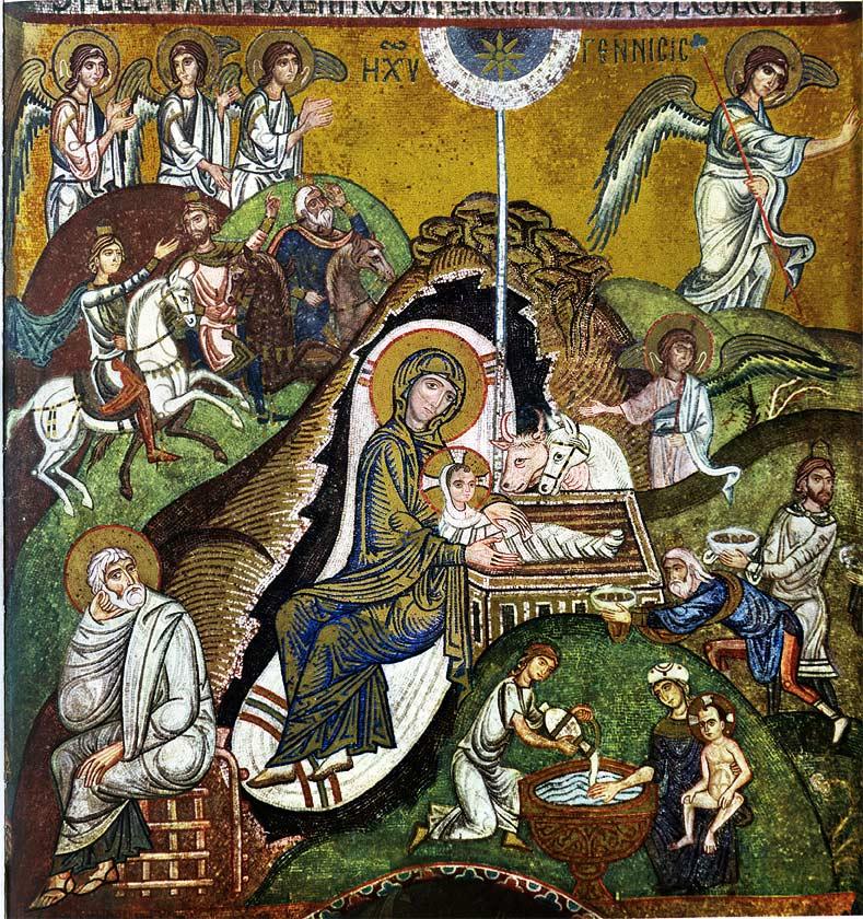 Icona della Natività di Gesù, Cappella Palatina, Palermo