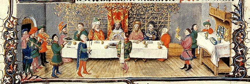 Il rito della tavola, miniatura
