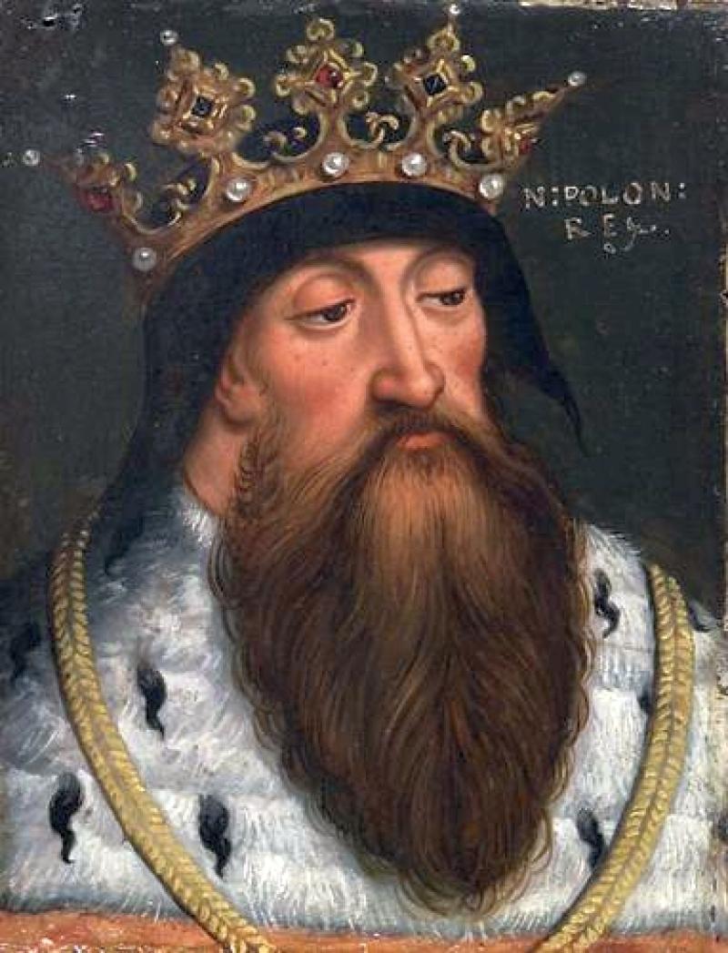 Ladislao I in un ritratto cinquecentesco