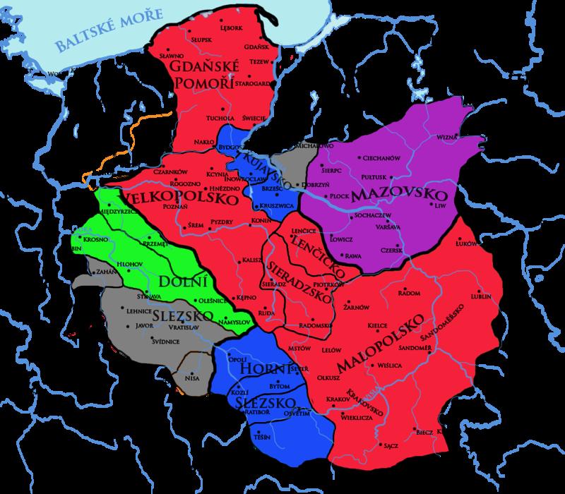 Polonia nel 1301 al tempo di Venceslao II