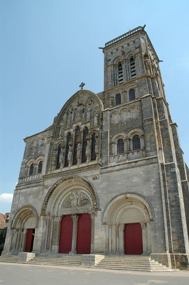 La basilica di Sainte-Marie-Madeleine a Vézelay