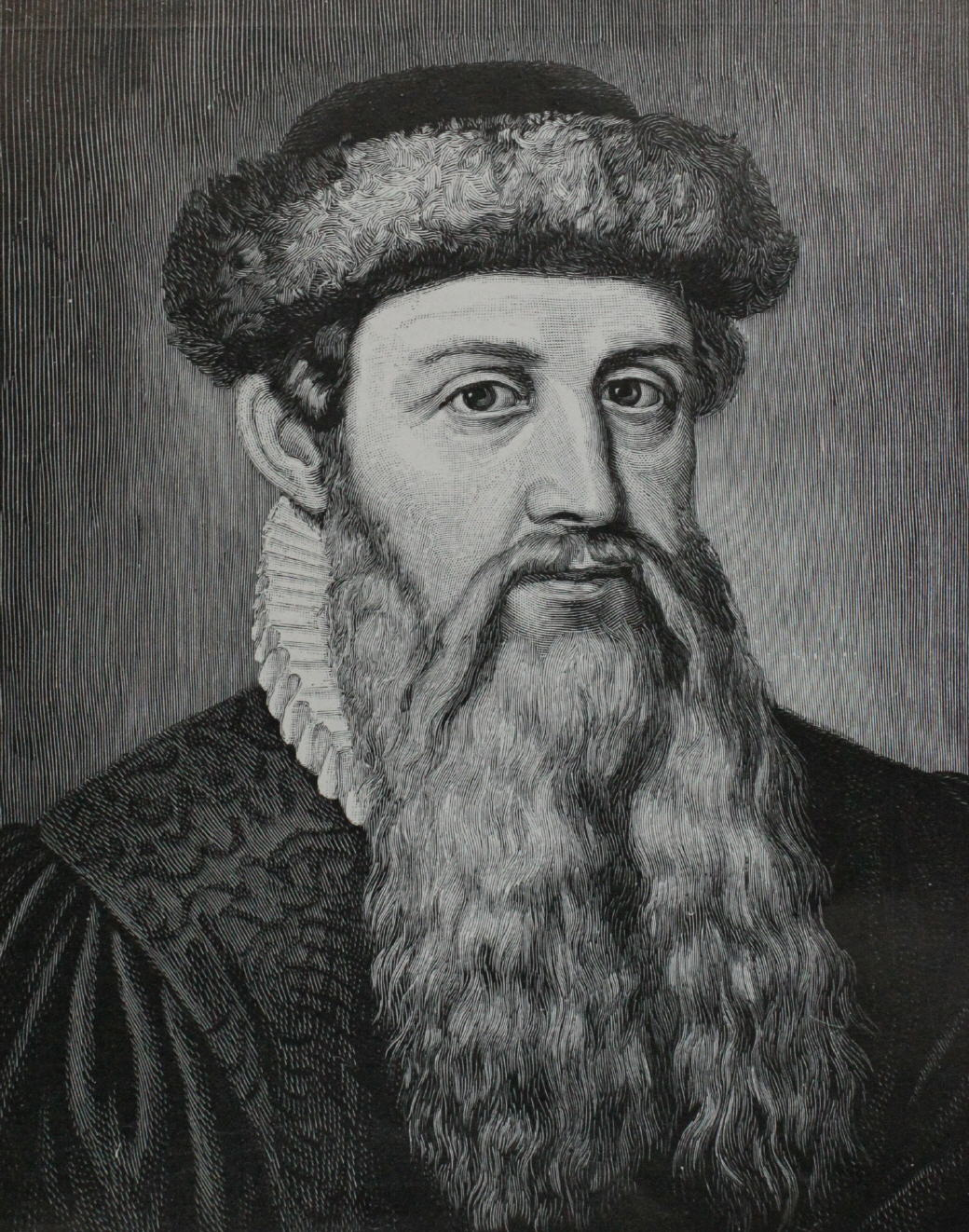 Un ritratto di Gutenberg