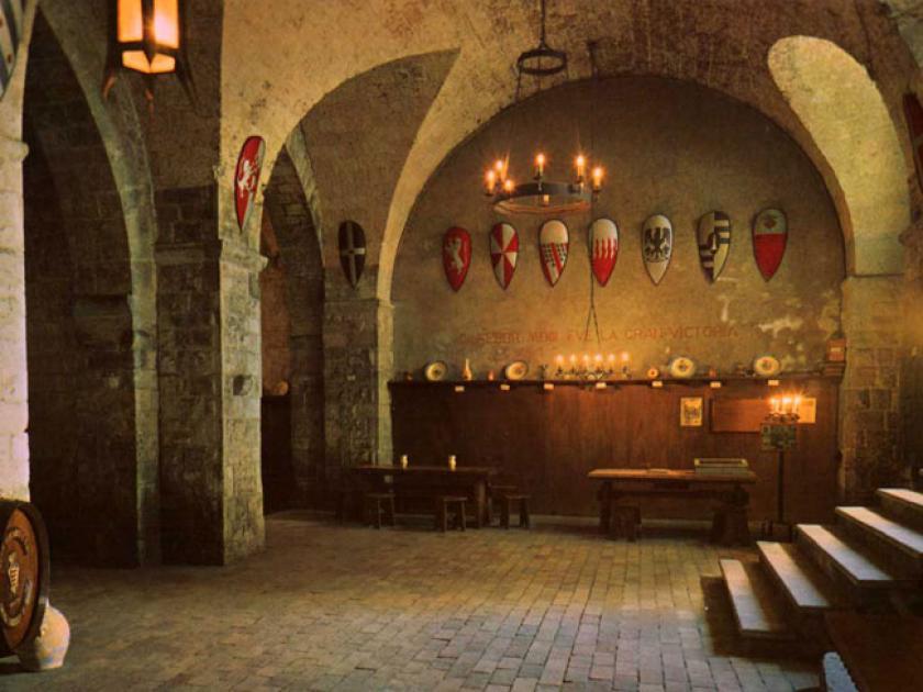 La cantina della Sfida si può visitare  nel centro di Barletta
