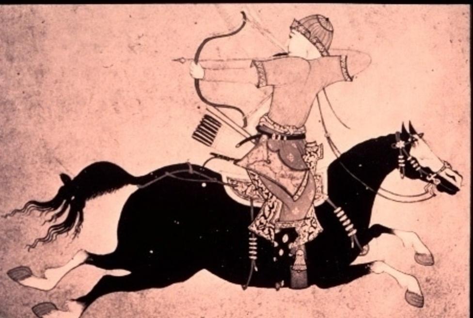 La libertà di azione del cavaliere mongolo era dovuta all'uso delle staffe, all'equipaggiamento leggero e all'arco corto