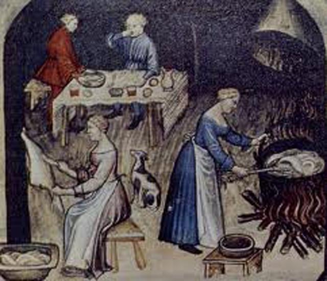 Preparazione della cena