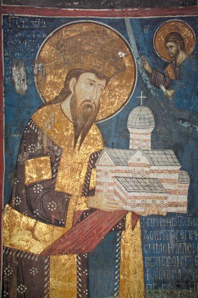 affresco-di-stefano-uros-iii-nel-monastero-di-decani