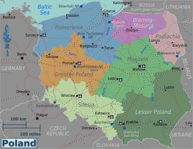 le-regioni-della-polonia