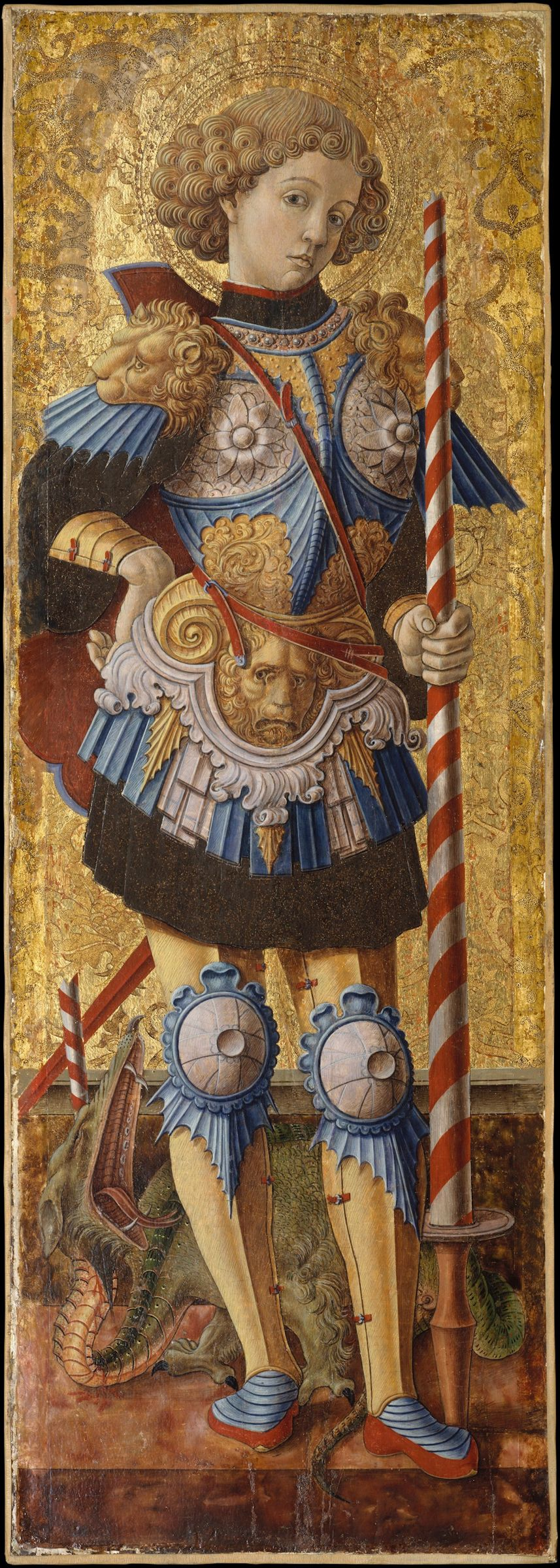 san-giorgio-in-unopera-di-carlo-crivelli-del-1472