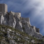 Il castello cataro di Queribus