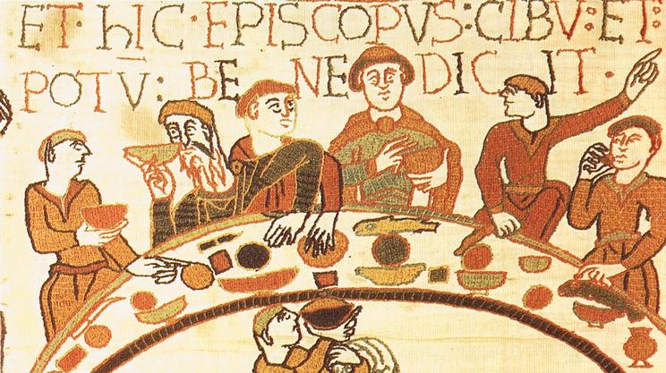 banchetto-medievale-arazzo-di-bayeux