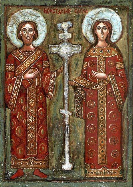 icona-ortodossa-bulgara-con-limperatore-e-la-madre-elena-e-la-vera-croce