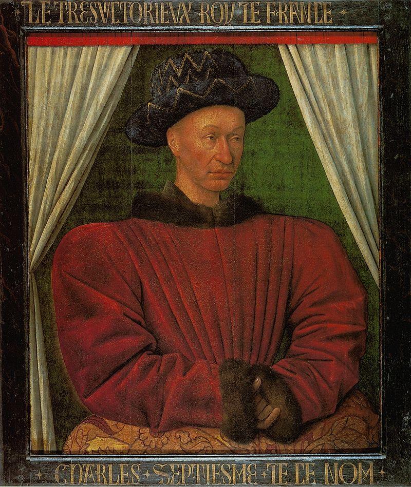 il-ritratto-di-carlo-vii-e-un-dipinto-su-tavola-di-jean-fouquet-databile-al-1444-1450-circa-e-conservato-nel-museo-del-louvre-di-parigi