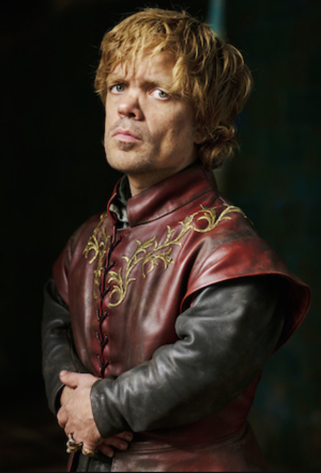 L'attore statunitense Peter Dinklage nei panni di Tyrion Lannister