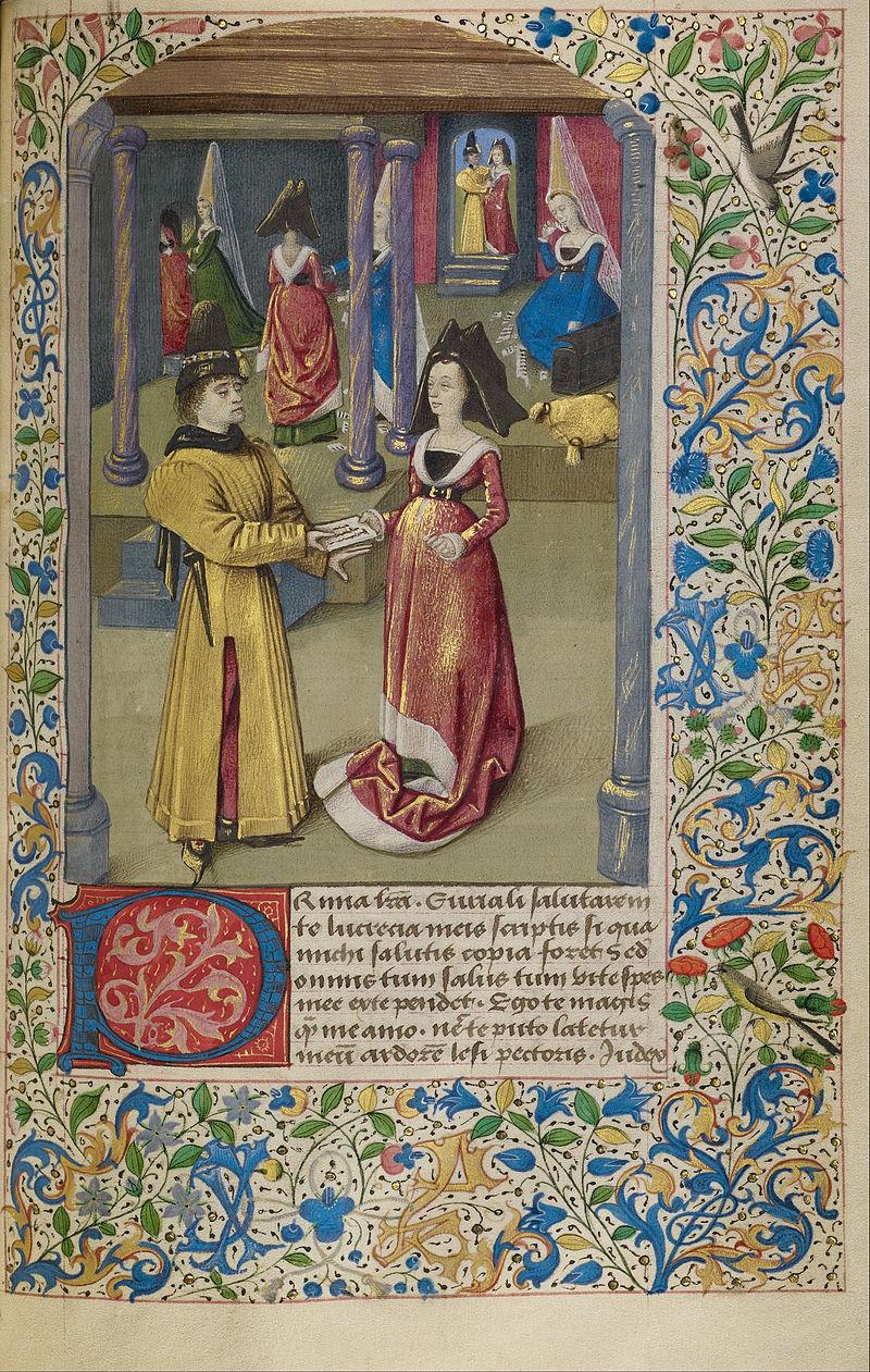 anonimo-eurialo-manda-la-sua-prima-lettera-a-lucrezia-1460-1470-jean-paul-getty-museum-lepisodio-e-tratto-dal-historia-de-duobus-amantibus-di-enea-silvio-piccolomini