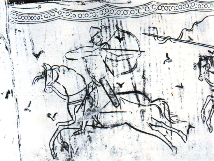 fresco-about-a-hungarian-warrior-italy