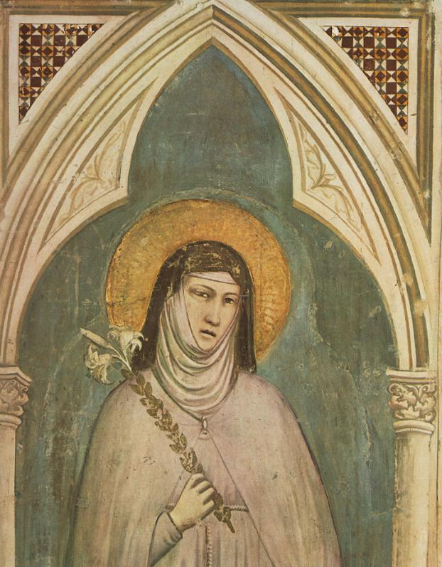 fresco_depicting_clare_of_assisi_holding_a_lily