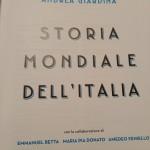"""La """"Storia mondiale dell'Italia"""" in libreria dal 16 novembre"""