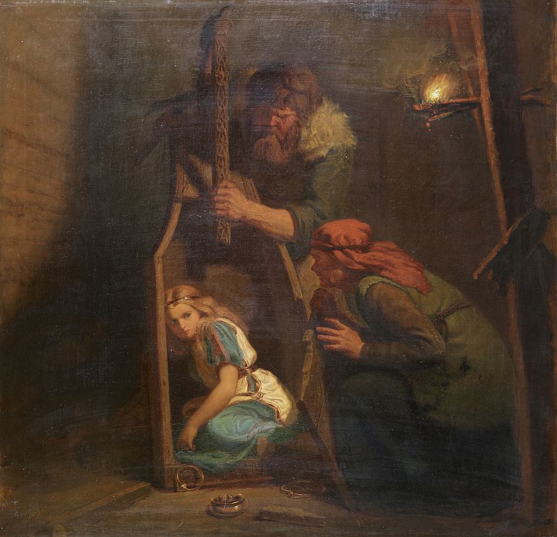 ake-e-grima-scoprono-aslaug-dipinto-di-marten-eskil-winge-1862