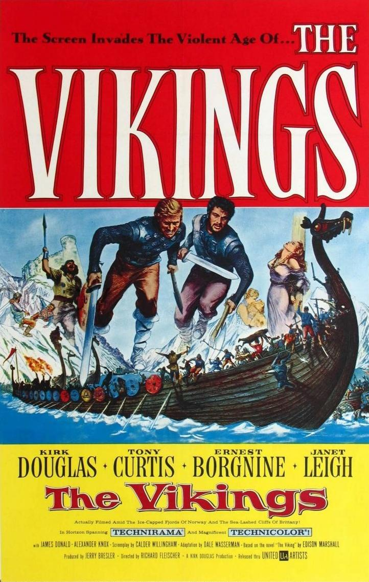 il-manifesto-del-film-the-vikings-del-1958