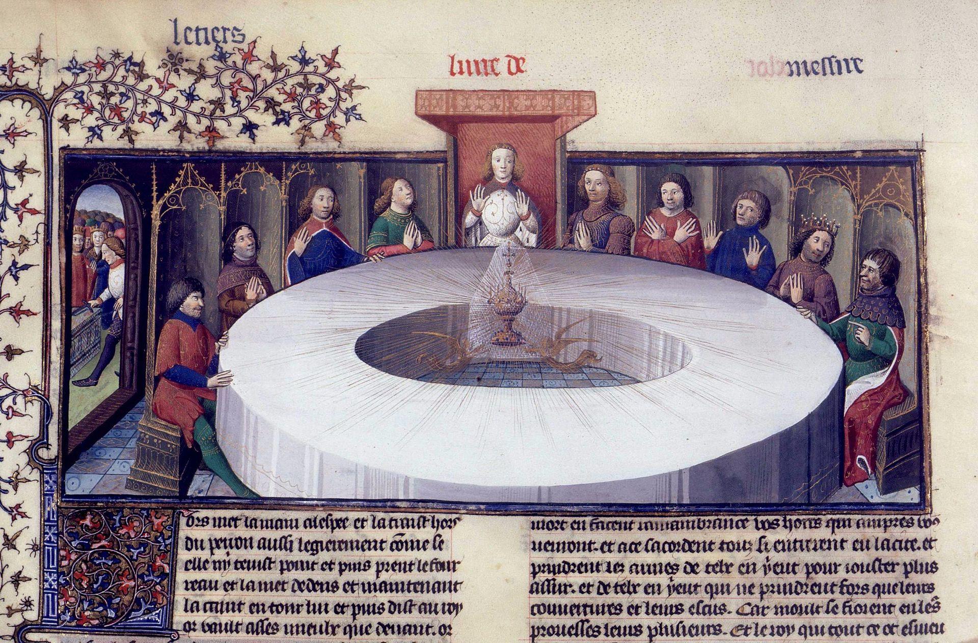 apparizione-del-sacro-graal-manoscritto-parigi-xv-secolo