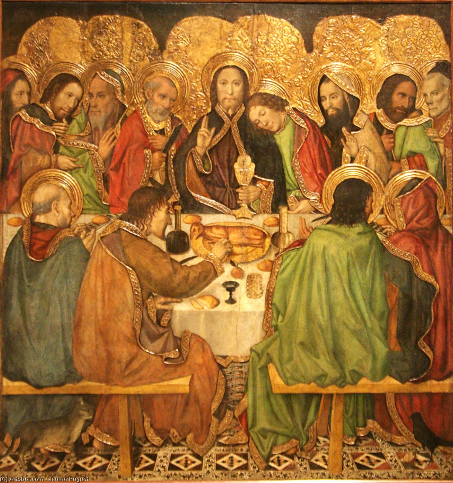 jaume_huguet-last_supper