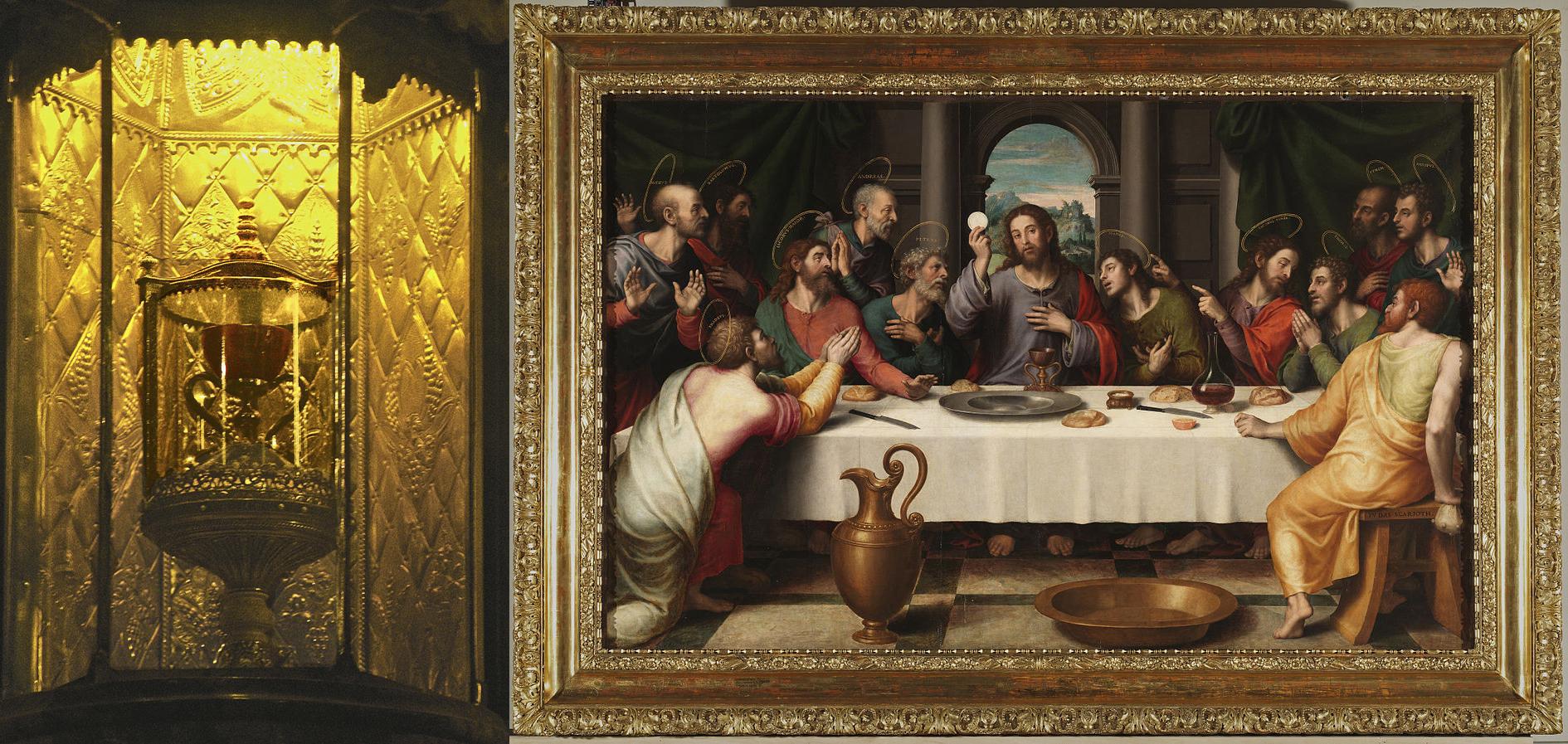 la-santa-cena-de-juan-de-juanes-1560-con-el-caliz-de-la-catedral-de-valencia-museo-del-prado-copia