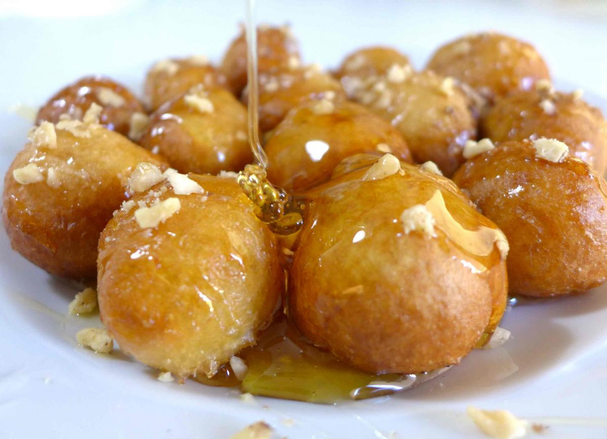 greek-loukoumades