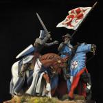 Guelfi e Ghibellini: figurini storici in mostra a Calenzano