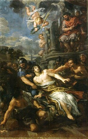 Martirio di san Lorenzo (Pietro da Cortona)