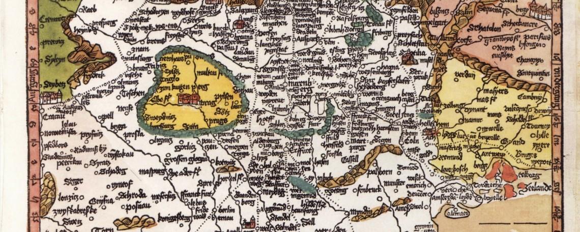 La Rompilger karte di Erhard Etzlaub