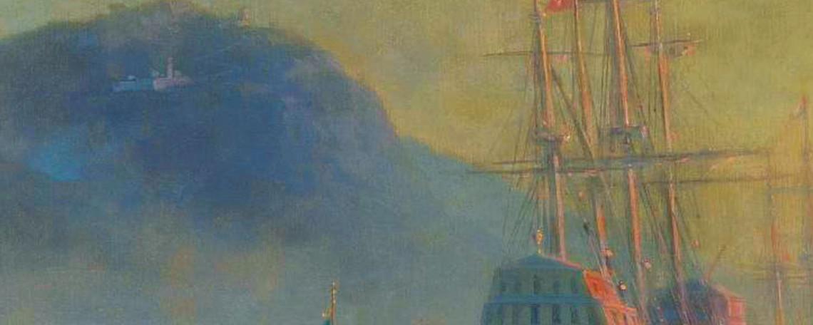 La copertina del libro su Colombo