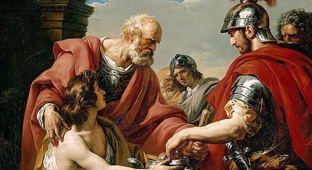 Il generale Belisario in povertà
