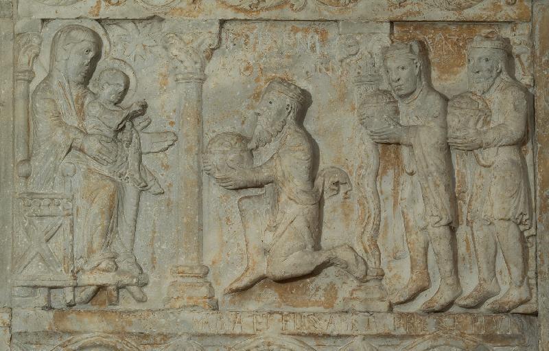 Adorazione dei Magi, San Zeno