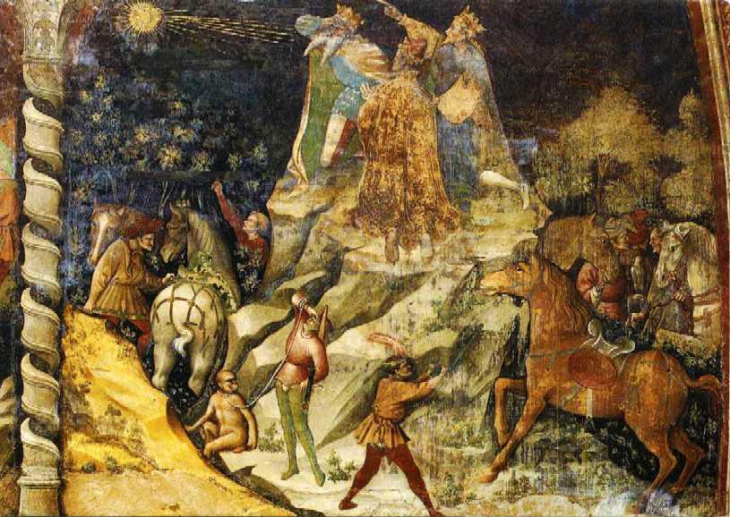 Apparizione della Stella, Cappella Bolognini