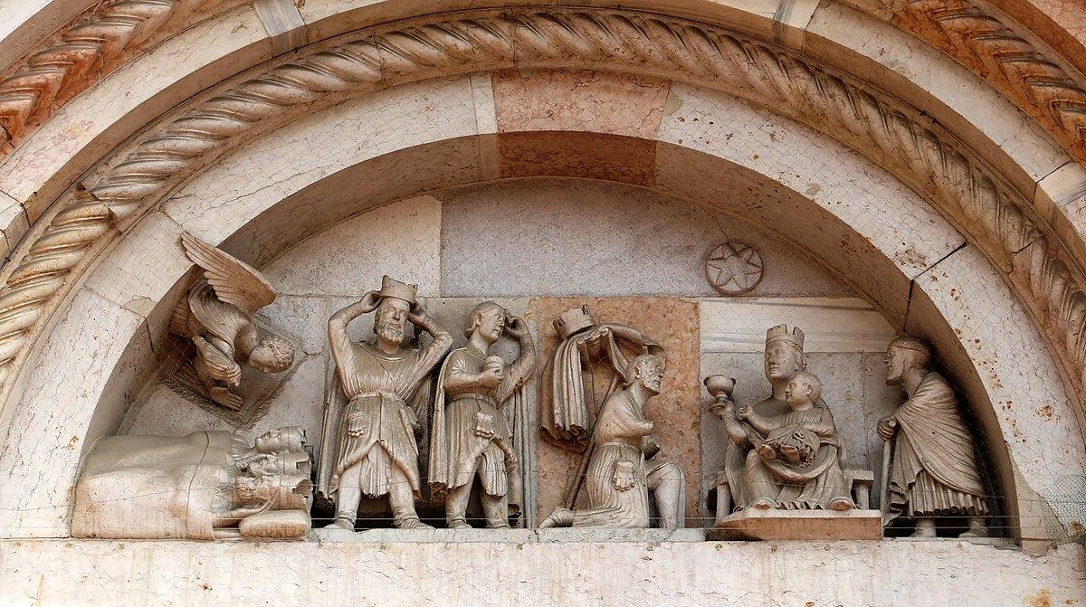 Il Sogno e l'Adorazione dei Re Magi, Abbazia di San Mercuriale