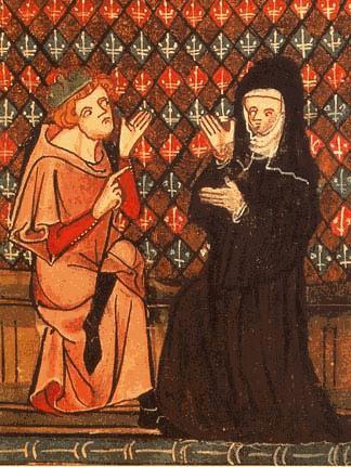 abelard_and_heloise-in-una-miniatura-del-xiv-secolo