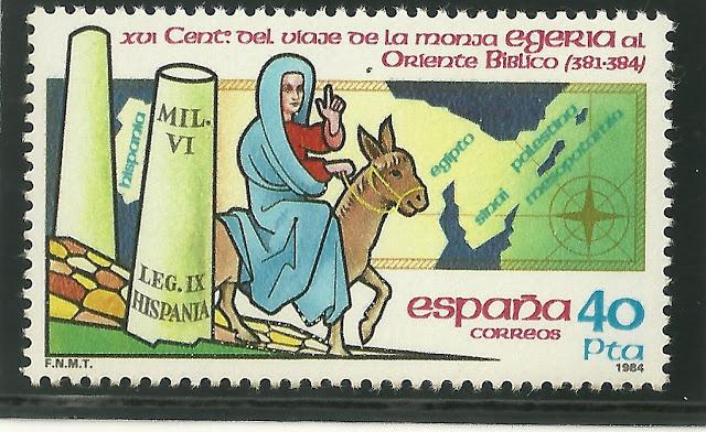 un-francobollo-spagnolo-dedicato-ad-egeria