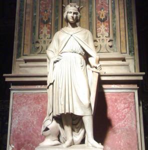 Il monumento funebre di Corradino di Svevia a Napoli