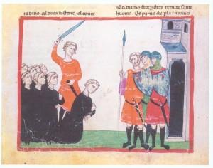 La decapitazione di Corradino nella Chronica di Giovanni Villani