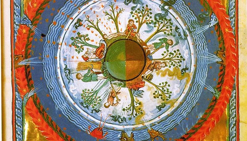 terra-sferica-con-le-quattro-stagioni-nel-libro-del-xii-secolo-liber-divinorum-operum-di-ildegarda-di-bingen