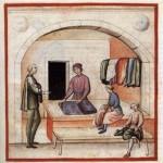 L'arte del sarto nel Medioevo