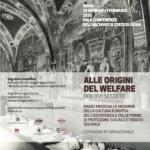 Alle origini del welfare, convegno internazionale a Siena